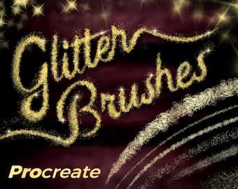 Glitter and Sparkle Brushes - Procreate