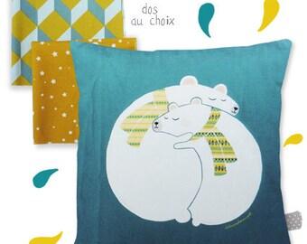 Pillow bear - Child's room Decoration