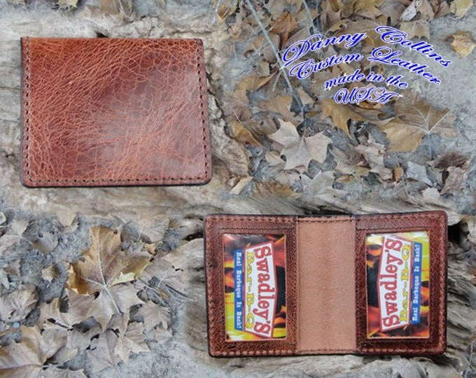 ID Wallet, ID, CHL Wallet, Classic Buffalo Wallet,  Identification Wallet