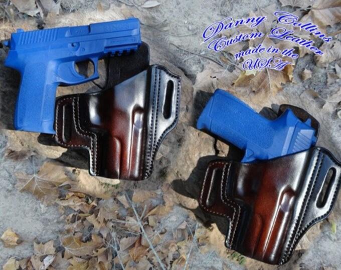 Sig Sauer P2022 Holster, Holster, Sig Sauer Pancake Holster, Molded Holster, leather holster
