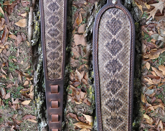 Custom Leather Rifle Sling
