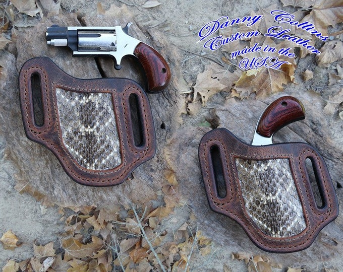 North American Arms holster, NAA mini mag holster, NAA pancake holster, Left Hand Carry