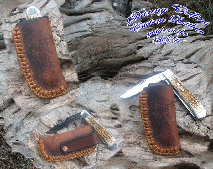 Buffalo Leather Knife Sheath
