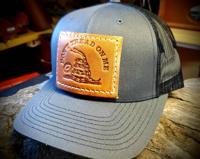 Dont Tread On Me Caps, Baseball Cap,  Snap Back Cap, Hat, Trucker Caps