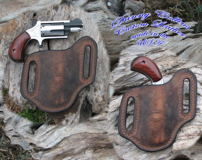 North American Arms Buffalo Leather Holster