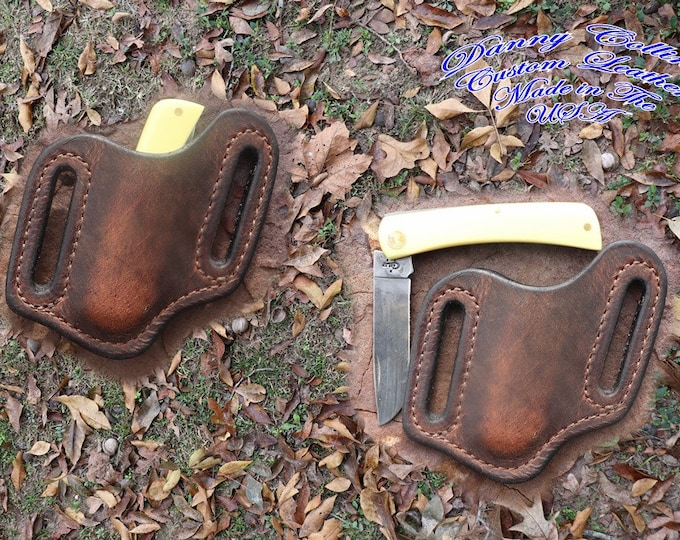 Case Sod Buster Jr. Knife Sheath, Buffalo Knife Sheath, Case Knife Sheath