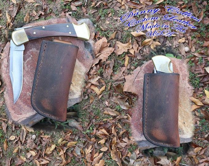 Buffalo Buck 112 Knife sheath/ Vertical Buck 112 Sheath/ Knife Sheath, This is not a Buck product