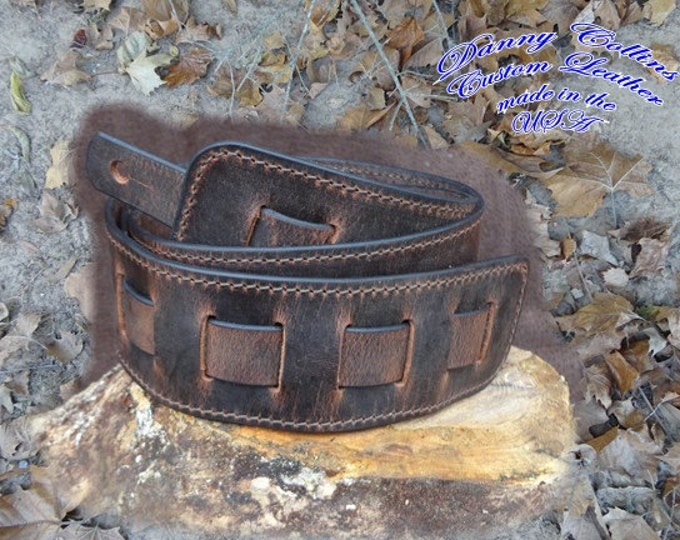 Guitar Strap, Buffalo Guitar Strap, Leather Guitar Straps
