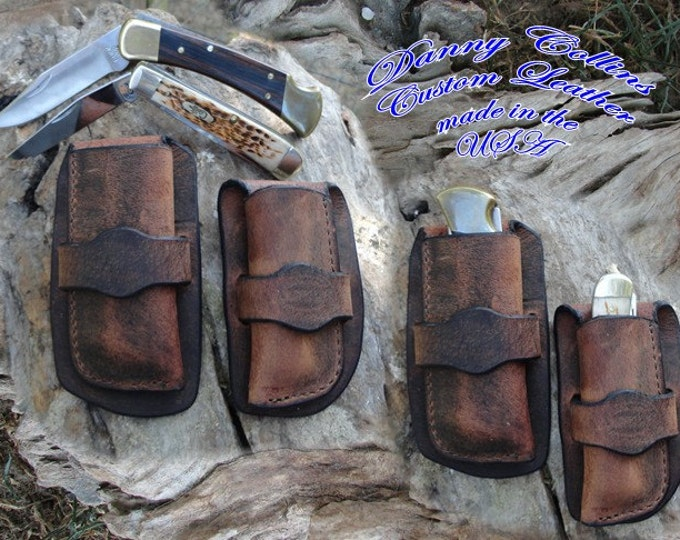 Case Trapper Cowboy sheath, Buck 110 Cowboy knife sheath, Buck 112 Buffalo knife sheath