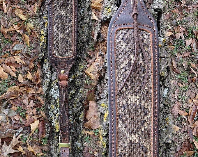 Rattlesnake Rifle Sling, Rifle Sling, Buffalo Rattlesnake Rifle sling