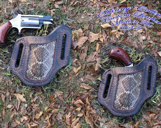 North American Arms holster, NAA mini mag holster, NAA pancake holster