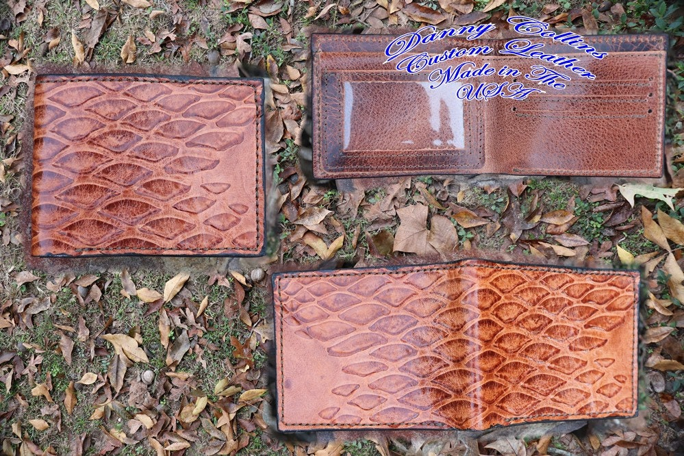 2ce42bbdc477 Anteater Bi fold wallet/ Leather Wallet/ Mens Wallet/ Exotic Leather ...