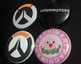 Overwatch Button Set (4 Pack)