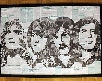 Led Zeppelin Trivia Collage