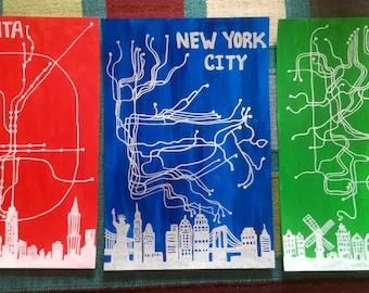 City Line Art