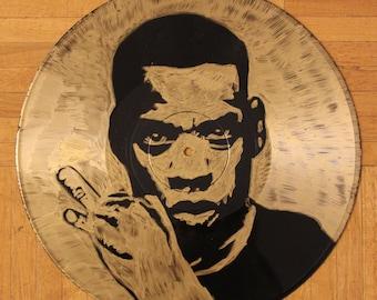 Jay-Z on Vinyl Record