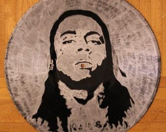 Lil Wayne on Vinyl Record