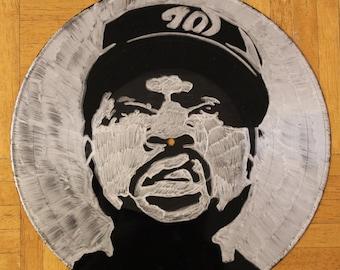 Ice Cube on Vinyl Record