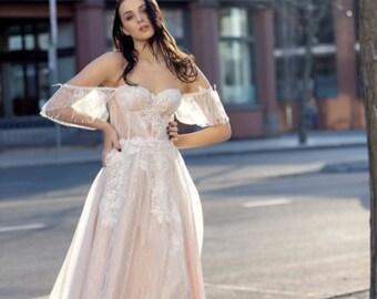 b76e324b5b3 Corset wedding dress