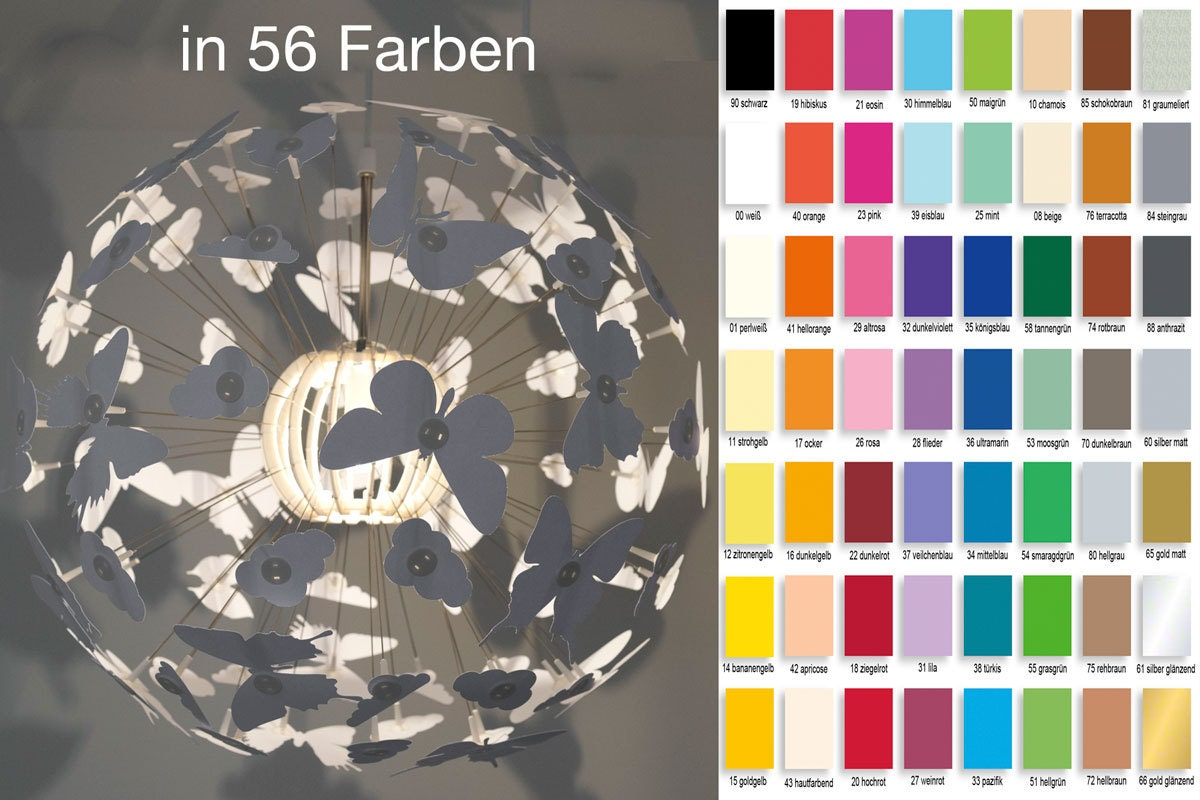 Pendant New Ps Butterfly edition Maskros Cm Ikea Desired Colour Lamp Design In 55 For KJ1cFl