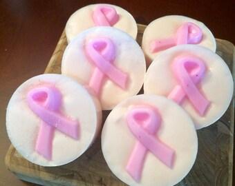 Pink Ribbons of Hope Soap Bar - Breast Cancer Awareness