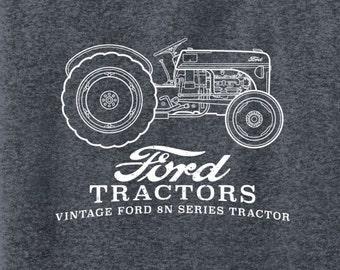 29909952 Vintage Ford Tractor Arch | Farmer | Farm T Shirt | John Deere | Unisex T  Shirt