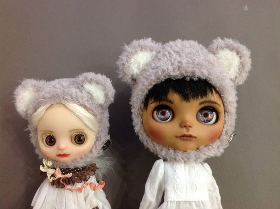Tuque d'ours Neo Blythe Middie blythe (gris)