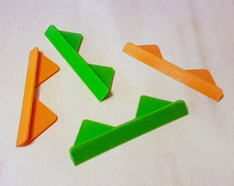 3D-Printed Corner Cutting Tool for Bookbinding (Set of 4)