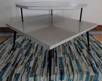 Corner Table Etsy - Mid century modern corner table
