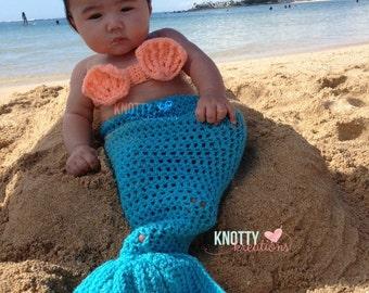 Crochet Mermaid Set// Photo Prop