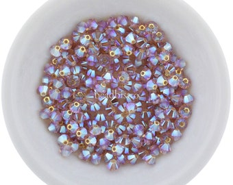10 Swarovski® Kristall Perlen Xilion Beads 6mm ROSE 5328 209 Art