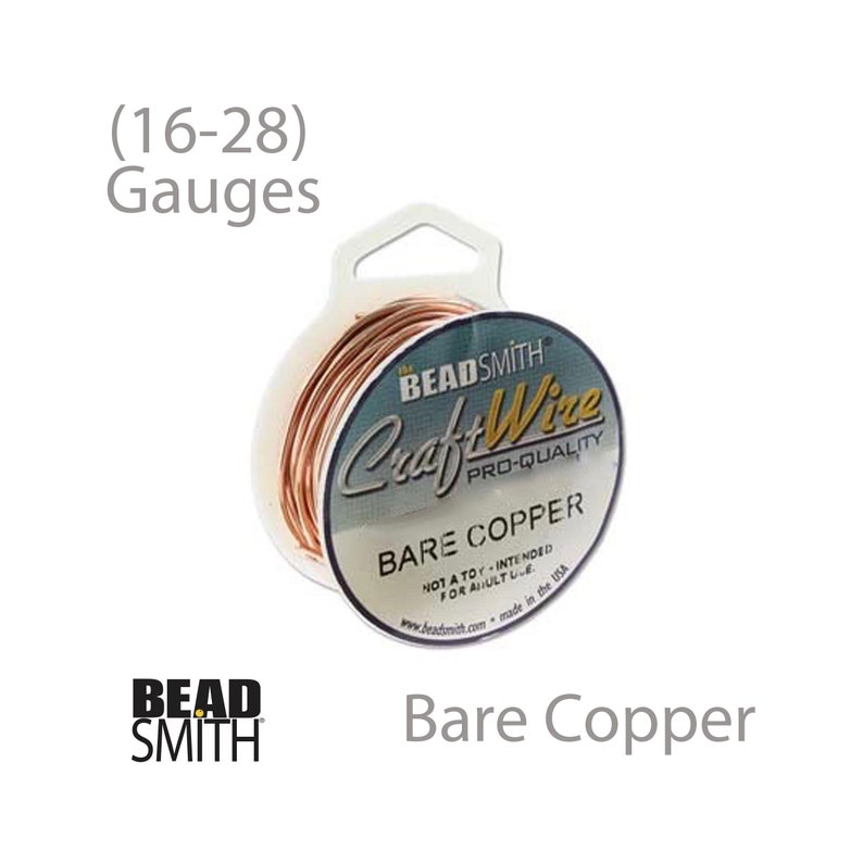28 gauge Gold Non Tarnish Copper Craft Wire 15 yards Made in USA
