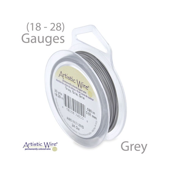 BIG Bead Smith Tarnish Resistant Craft Wire Gold//Silver 18-28 gauge