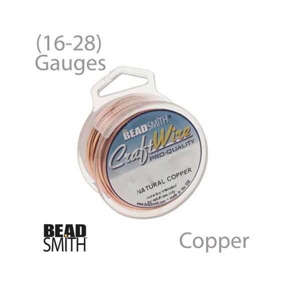 24 20 18 22 28 Gauge Wire 26 Stainless Steel BeadSmith Craft Wire 16
