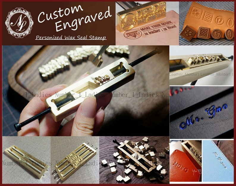 34aade94bf7a6 Fixture Holder 26pcs Alphabet Leather Stamp Letters Set Wood