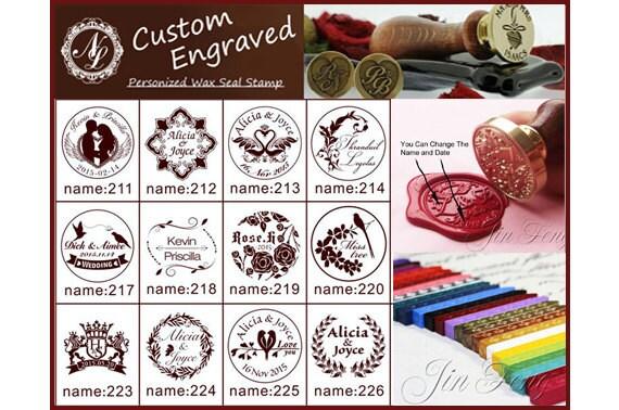 no 211 252 style custom engraved name date wedding etsy