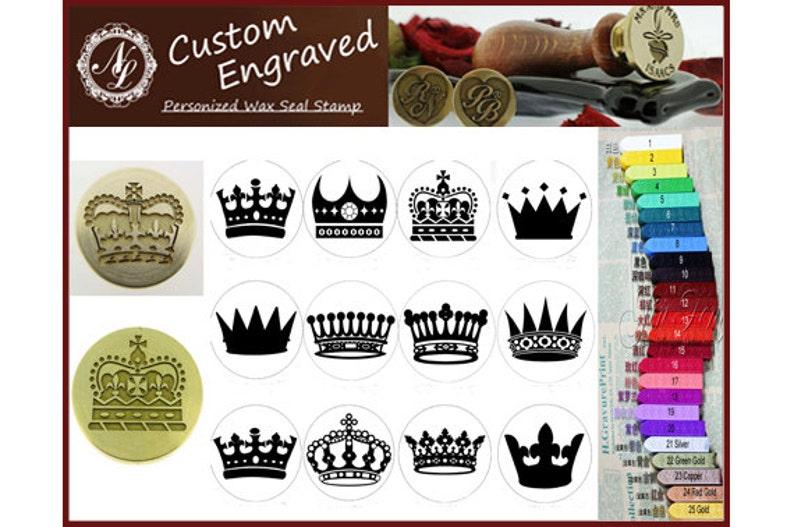 81591a3ccdca36 Imperial królewski Korona uszczelnienie stempel pieczęć wosk | Etsy