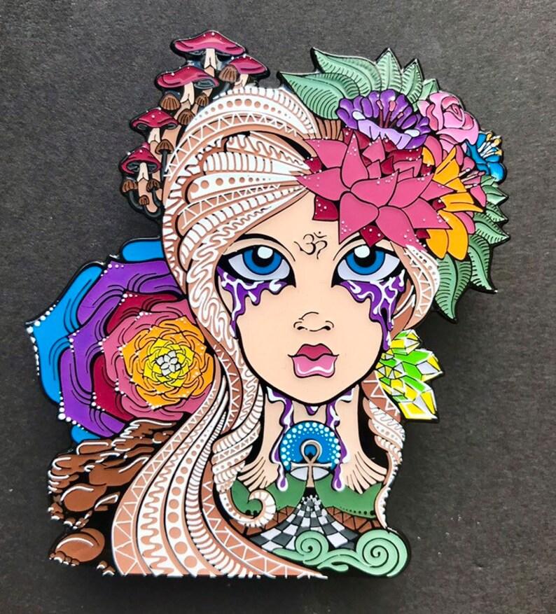 Eternal Flower Hat Pin image 0