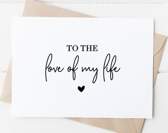 Engagement or any other occasion Valentines To My Fianc\u00e9e Card blank inside. Suitable for Birthday