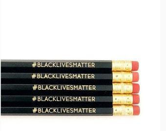 Closeout! Last chance! #BLACKLIVESMATTER pencil singles! 12 pencils in total!