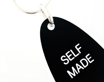 SELF MADE keychain