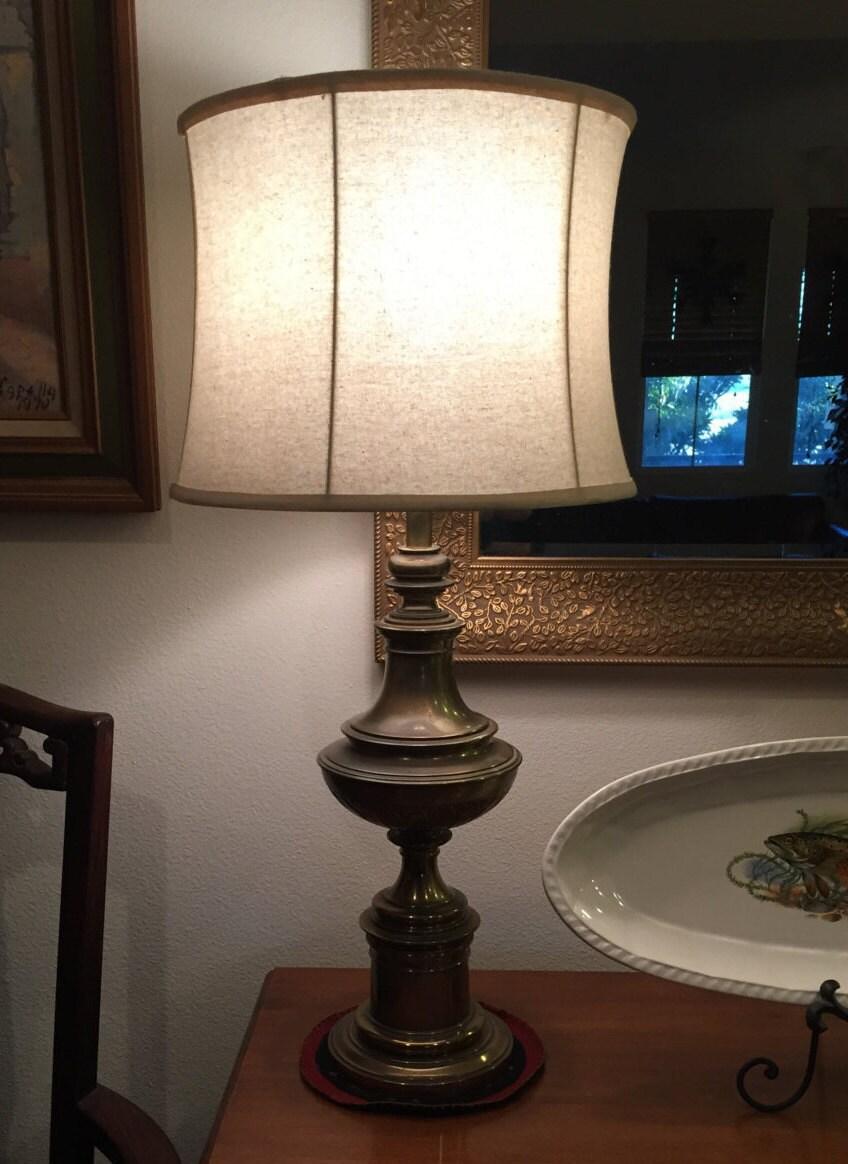 Antique Leviton Stiffel Hollywood Regency Decor Heavy