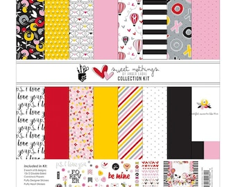 """Fancy Pants   Sweet Nothings   Designs Collection Kit 12""""X12"""""""