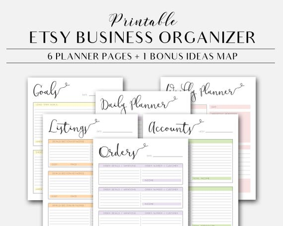 graphic about Etsy Printables named Etsy Retail outlet Printable Organizer, Etsy Retail outlet Planner Internet pages Fast Obtain, Etsy Dealer Planner, Enterprise Planner Web pages, Office Printables