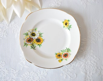 Replacement China Bridal shower Housewarming Vintage Tea Party 1960 s Vintage China Cake Plate Vintage Wedding Orphan Plate Birthday