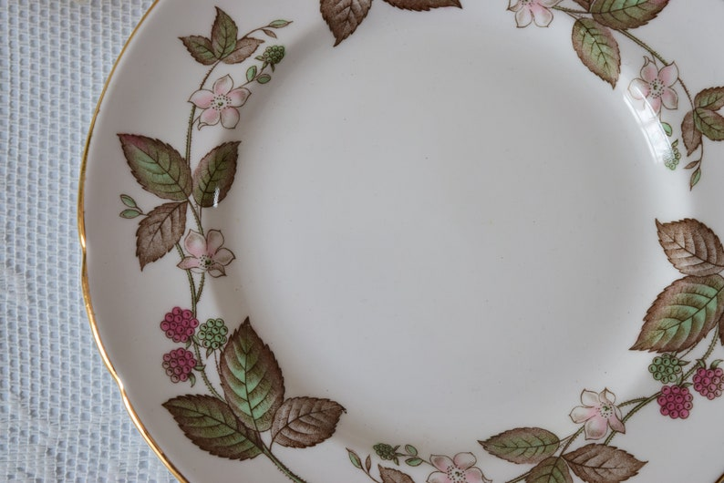 Vintage China Cake Plate 1960 s Birthday Vintage Tea Party Bridal shower Orphan Plate Vintage Wedding Replacement China Housewarming