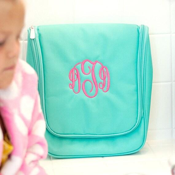 Monogrammed Cosmetic Case Monogrammed Bag Monogrammed Makeup  809295f771d42