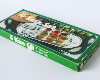 "Vintage ""Käseset"" cheese set by WMF - 60s / 70s German design in original box OB - Stainless steel"