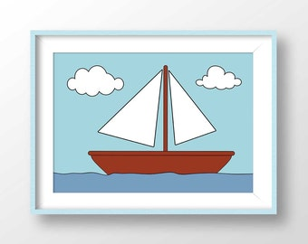 picture about Boat Printable called Boat printable Etsy