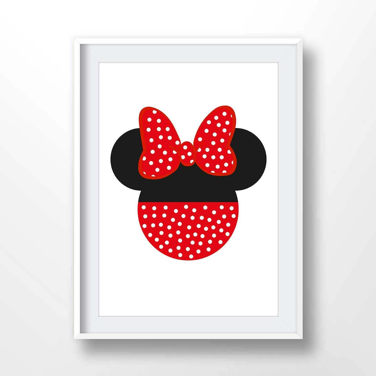 4a1097405 Minnie Mouse poster minnie printable minnie illustration